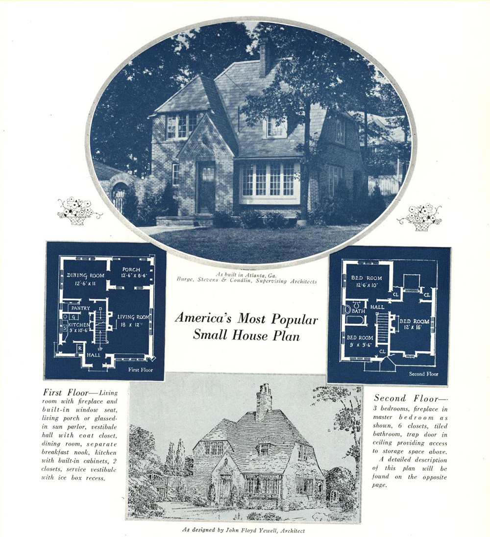 house plans from 1923