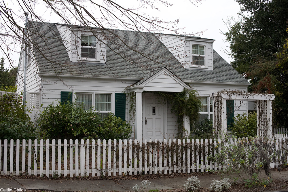 Cape Cod style house from the 1920s