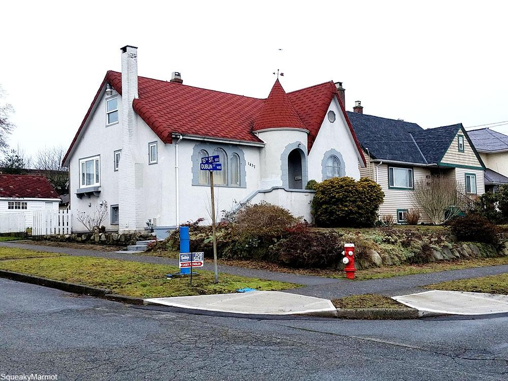fairytale 1920s house