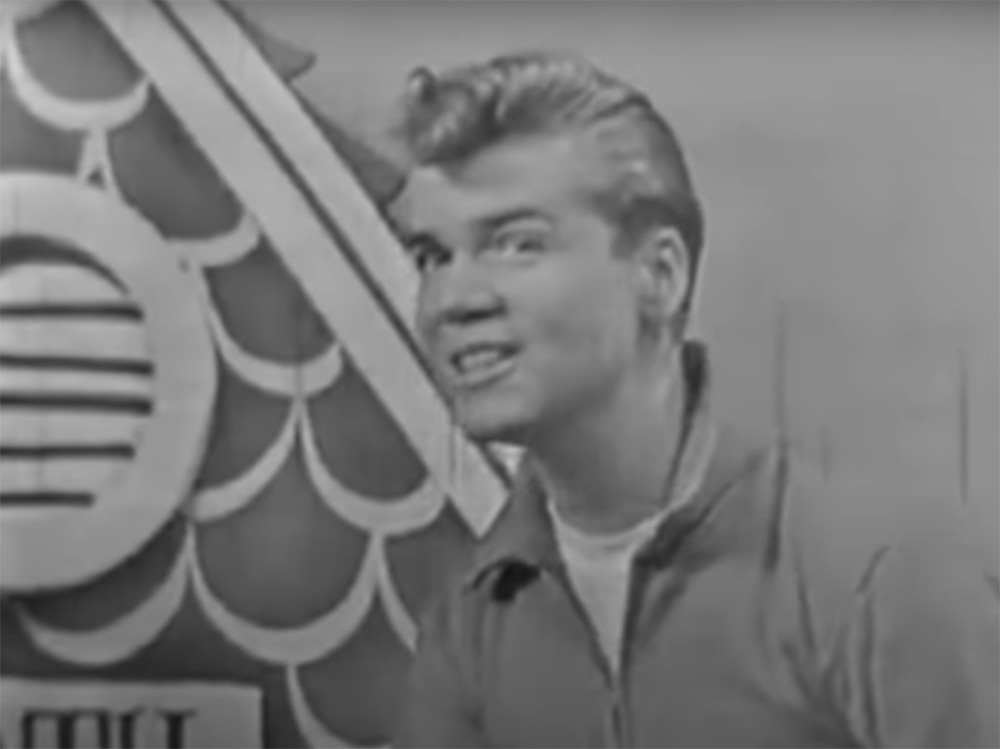 Brian Hyland on American Bandstand in 1960