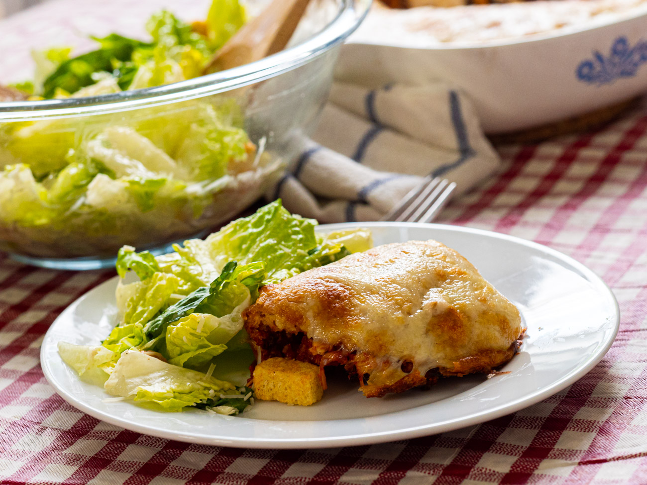 Italian Chicken Pie