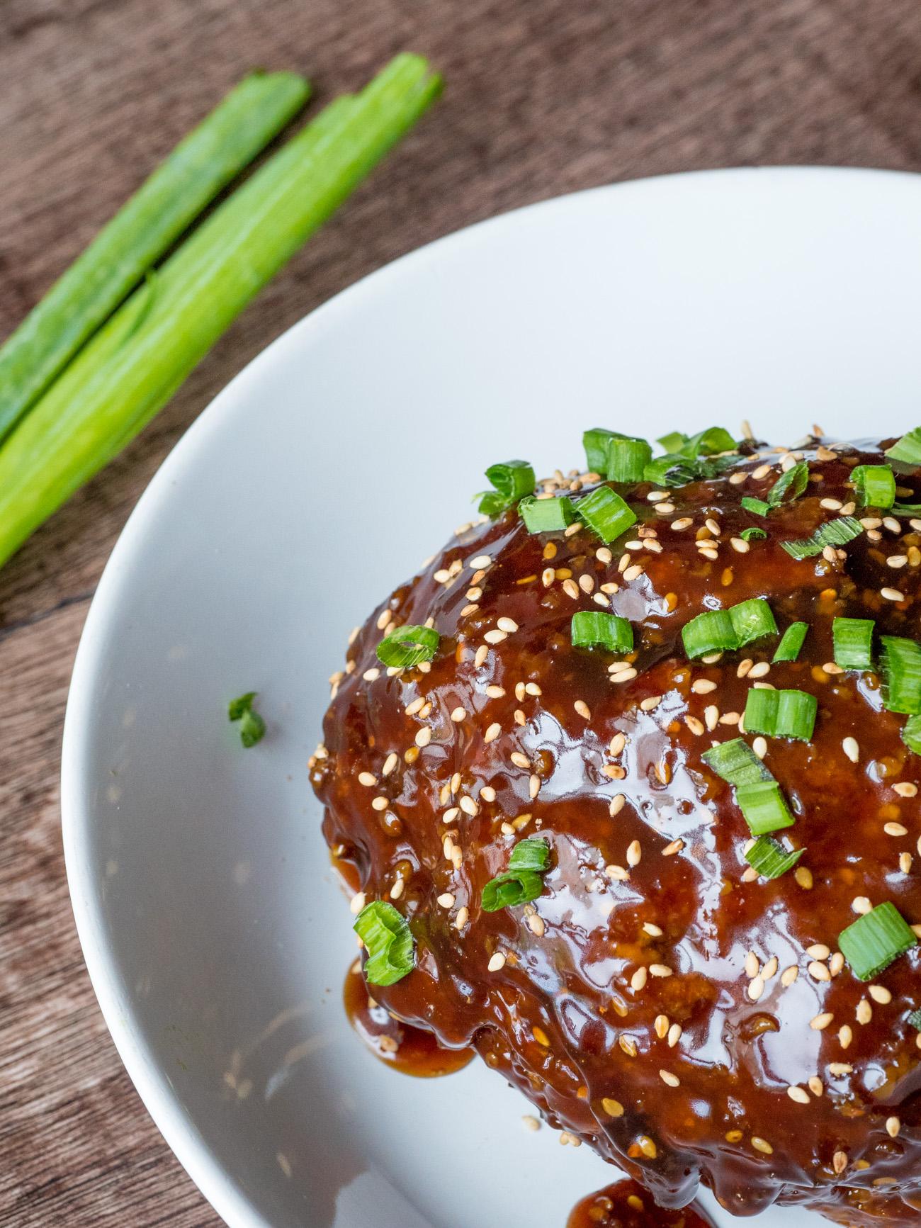 Korean BBQ Meatloaf