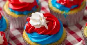 Bomb Pop cupcakes