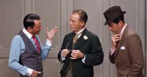 Dean Martin, Frank Sinatra, and Bing Crosby in Robin and the 7 Hoods