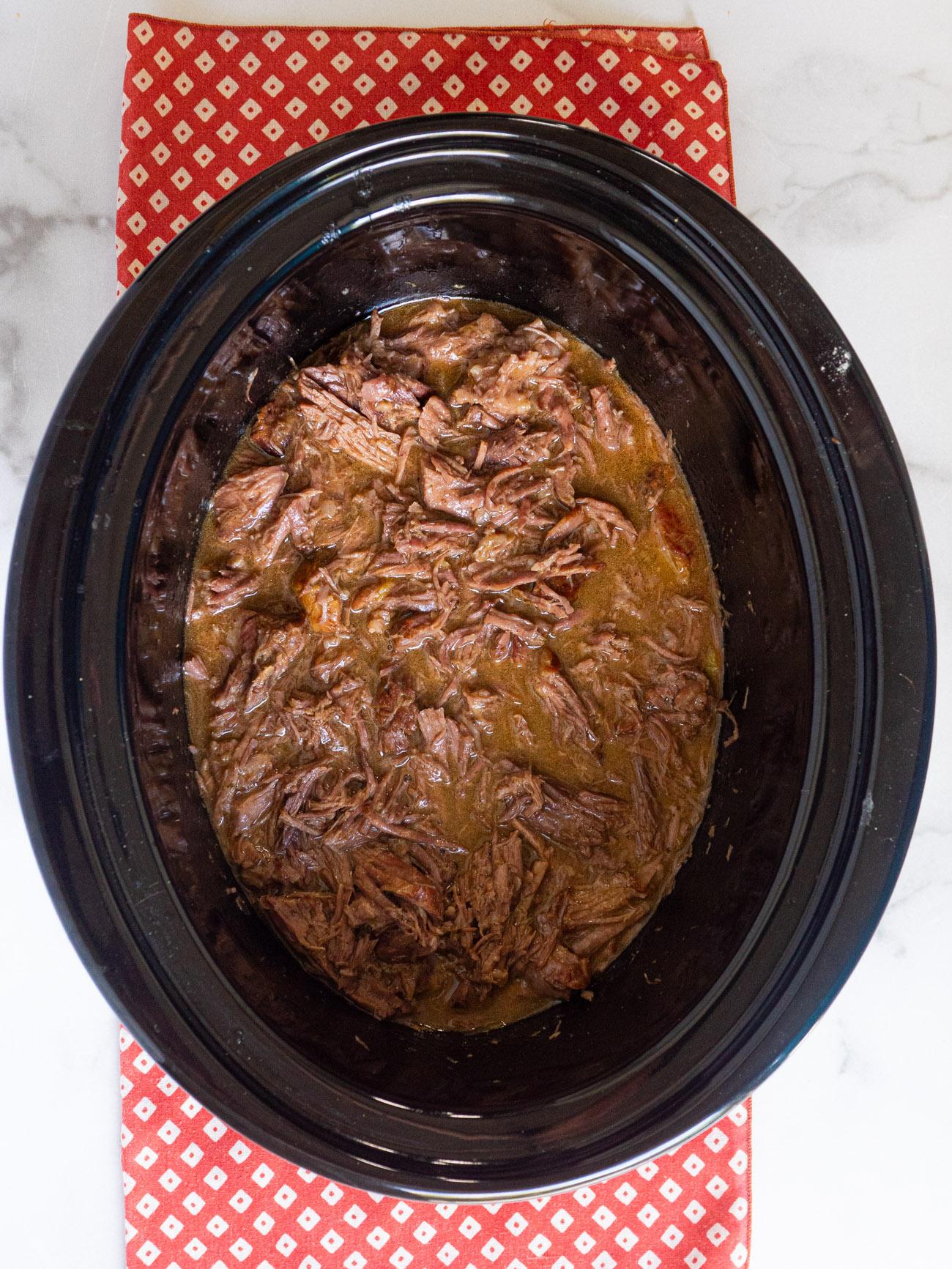 Mississippi Slow Cooker Pot Roast