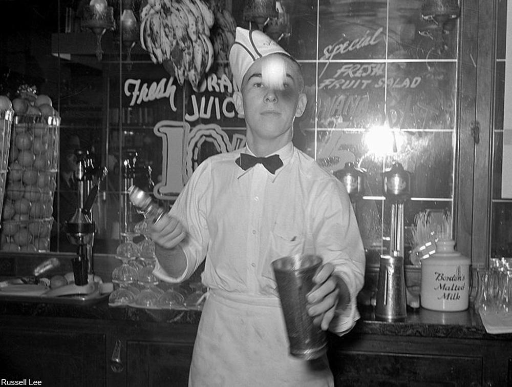 1940s soda jerk