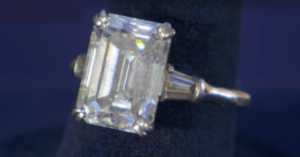 massive diamond ring on Antiques Roadshow