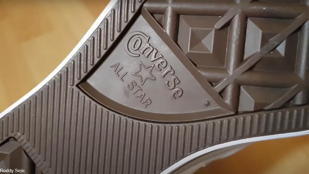 Converse shoe sole