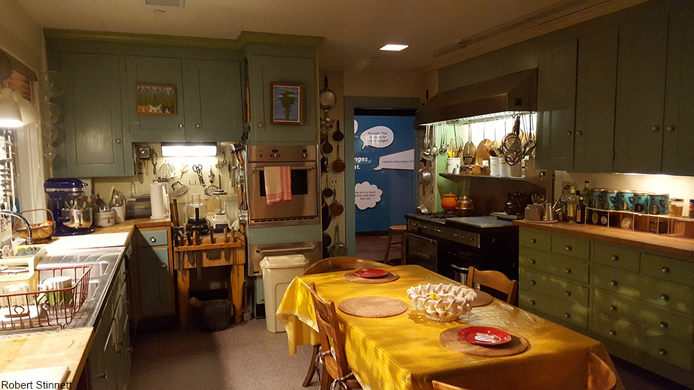Julia Child's kitchen at the National Museum of American History