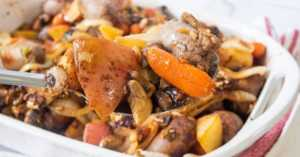 Bratwurst Supper Bake