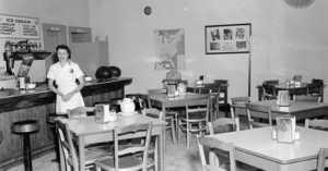 cafe waitress 1948