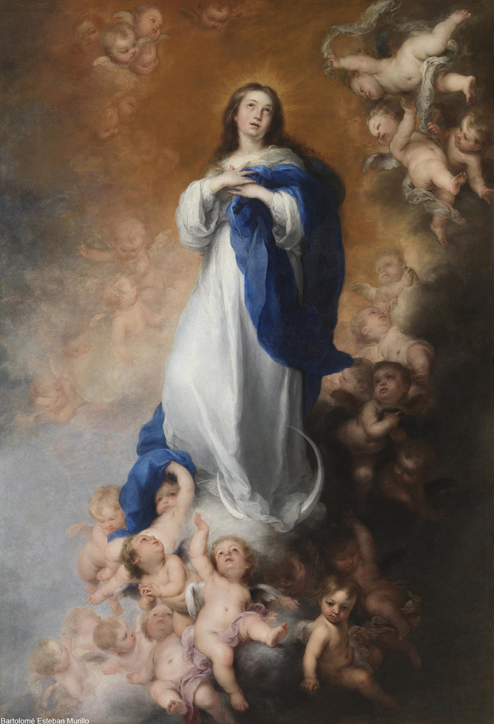 Bartolomé Esteban Murillo painting of the Immaculate Conception from 1678