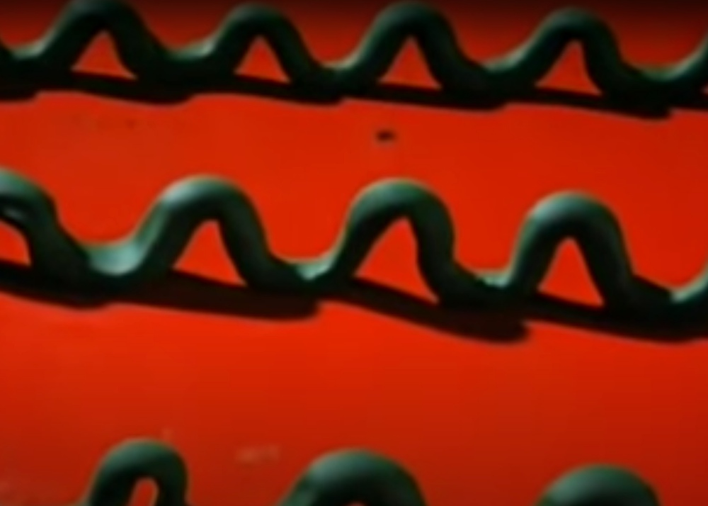 still from Gumbasia, Art Clokey's first claymation film