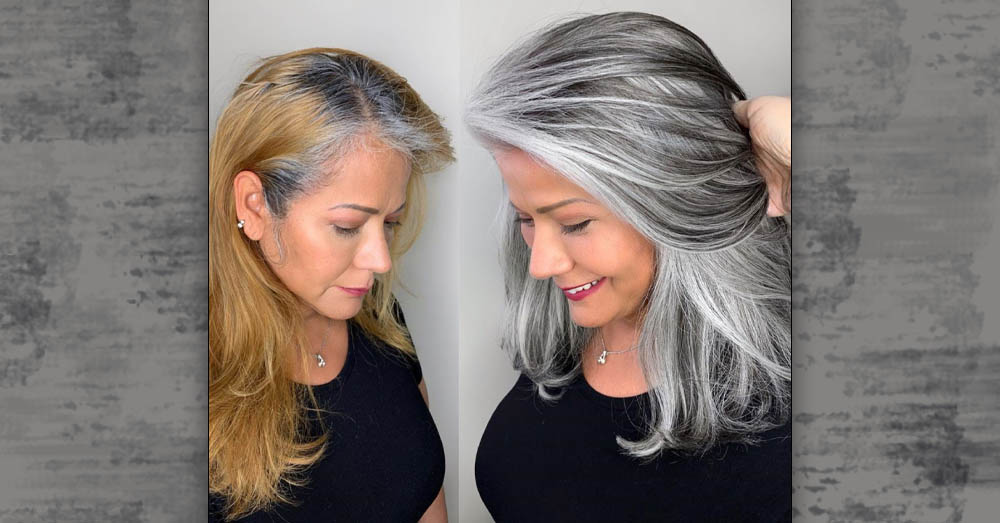 I how go gray hair do let my Transitioning to