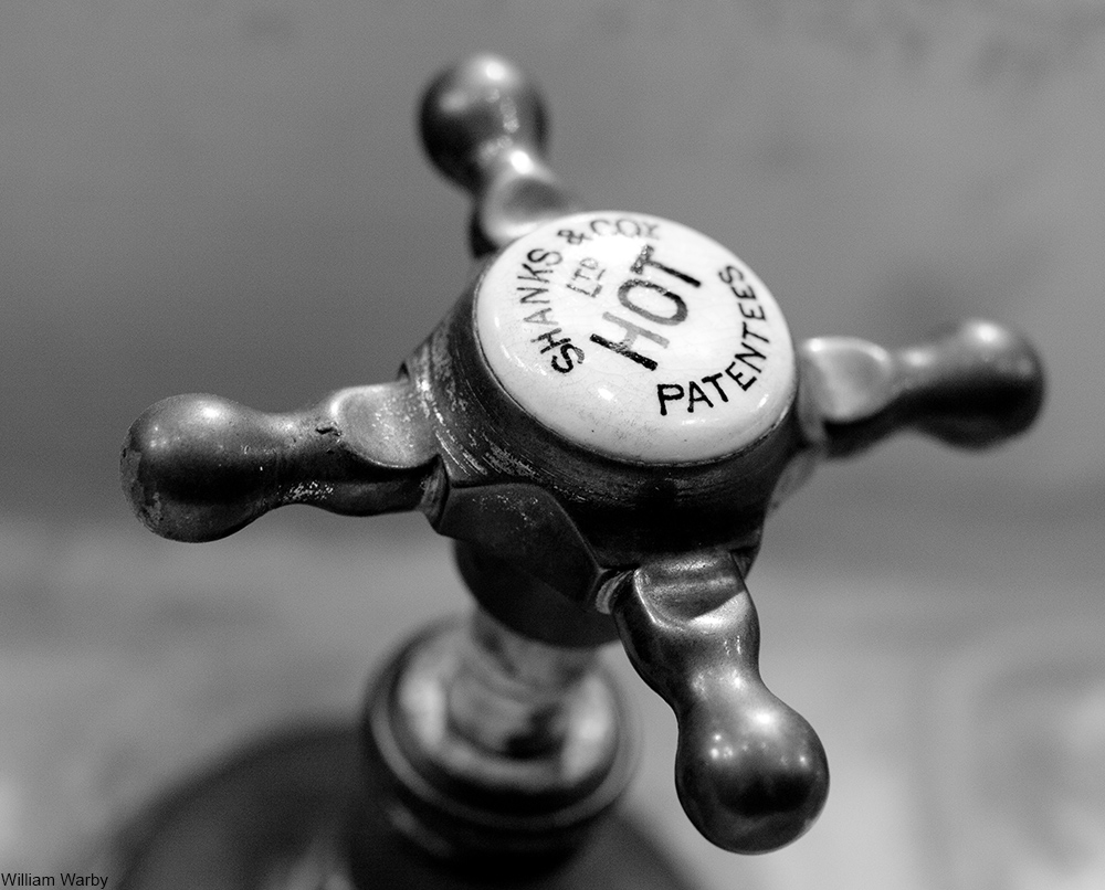 Victorian hot water tap