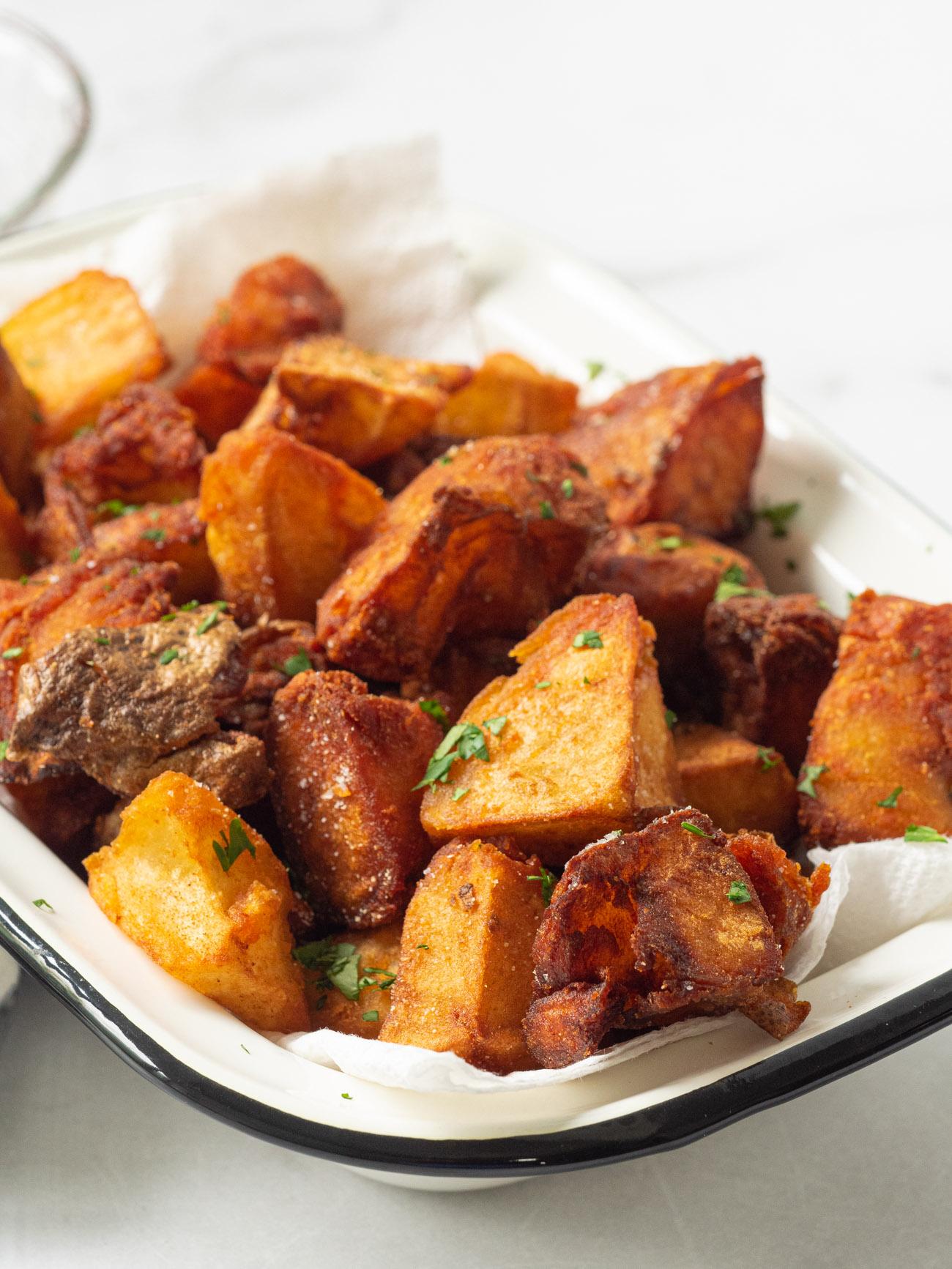 Smitten Kitchen S Crispy Crumbled Potatoes 12 Tomatoes