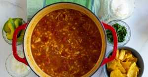 7-Can Chicken Tortilla Soup