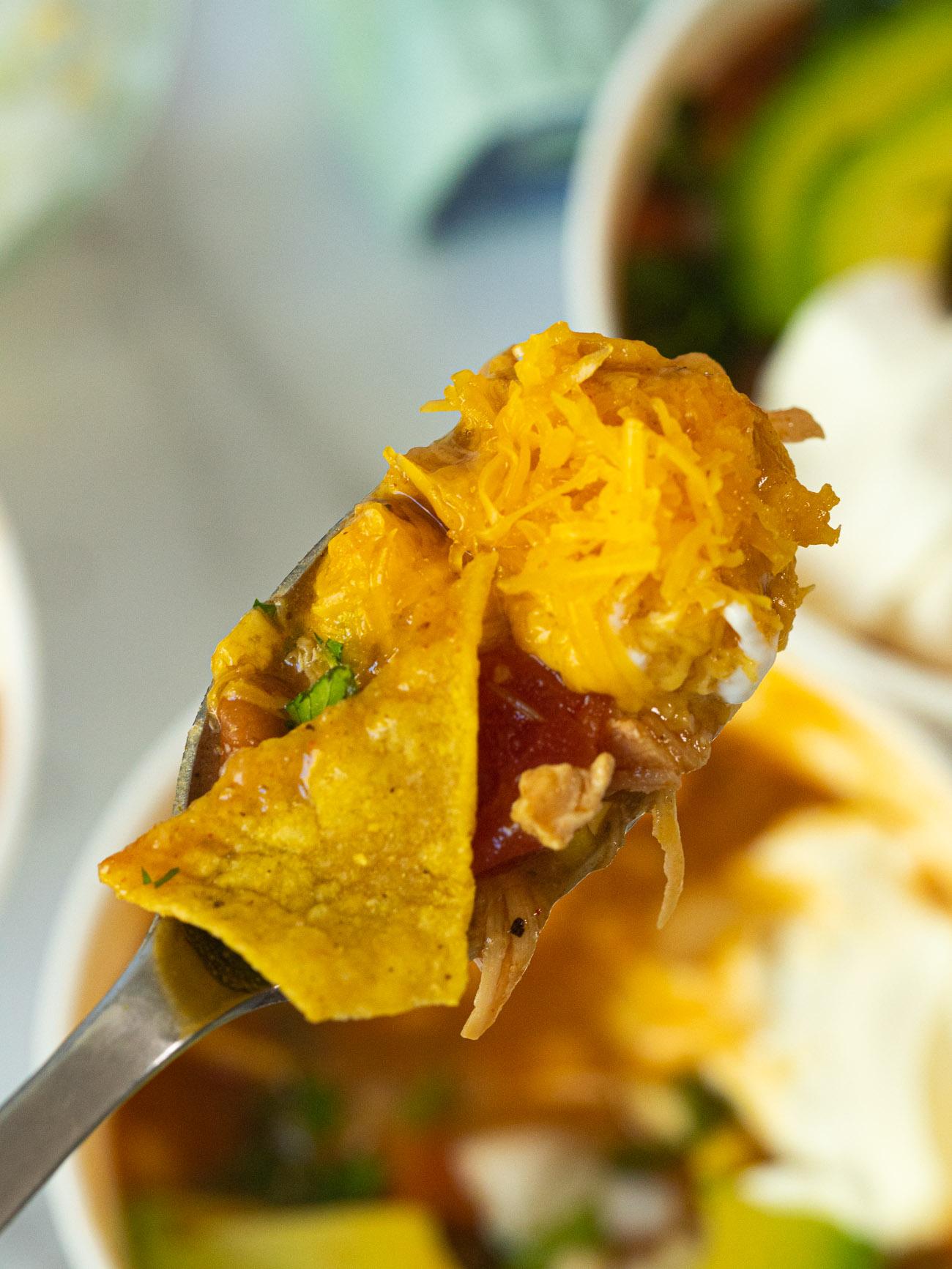 7-Can Chicken Tortilla Soup