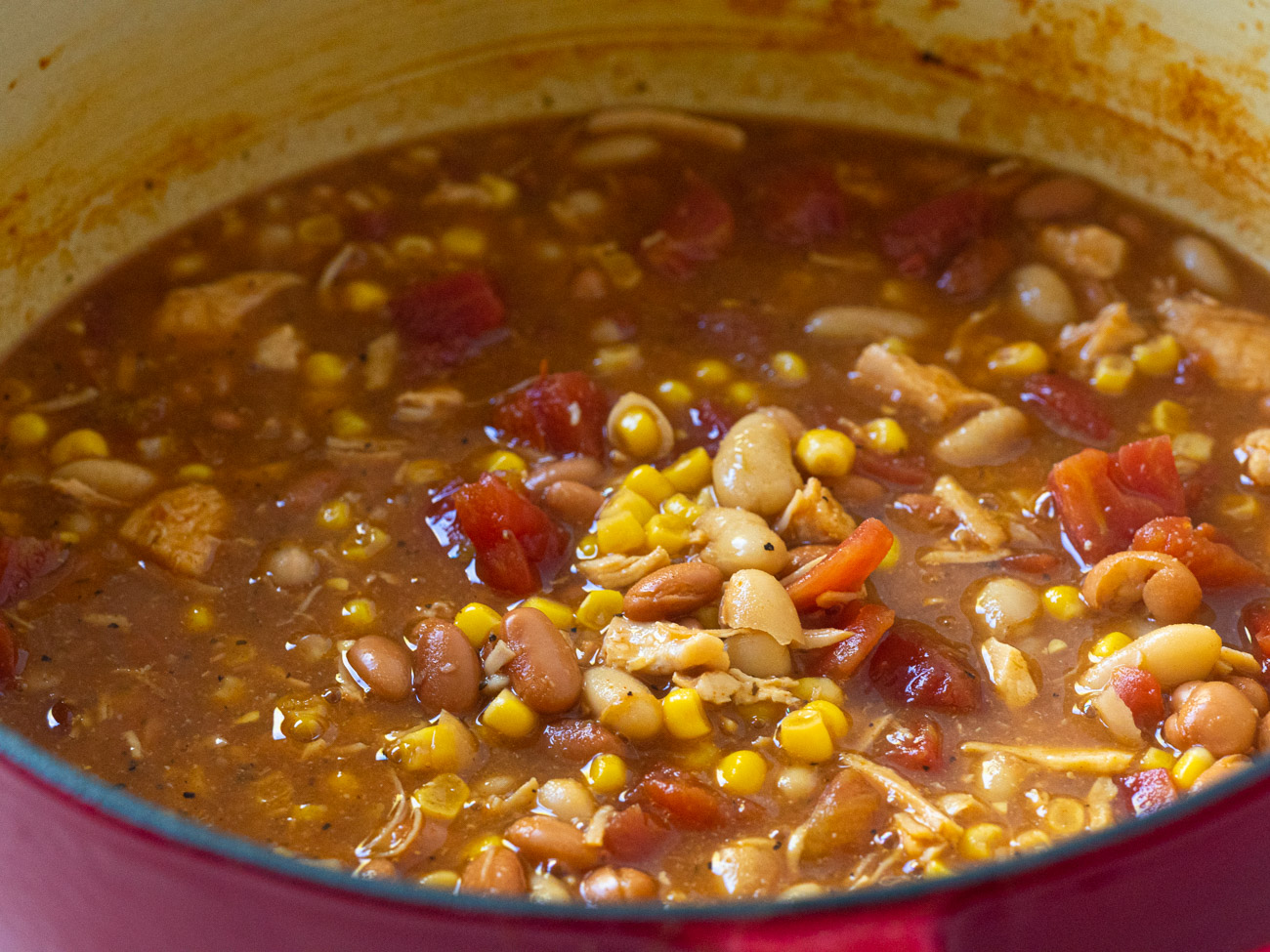Bring to a boil, then reduce heat and simmer for 30 minutes.