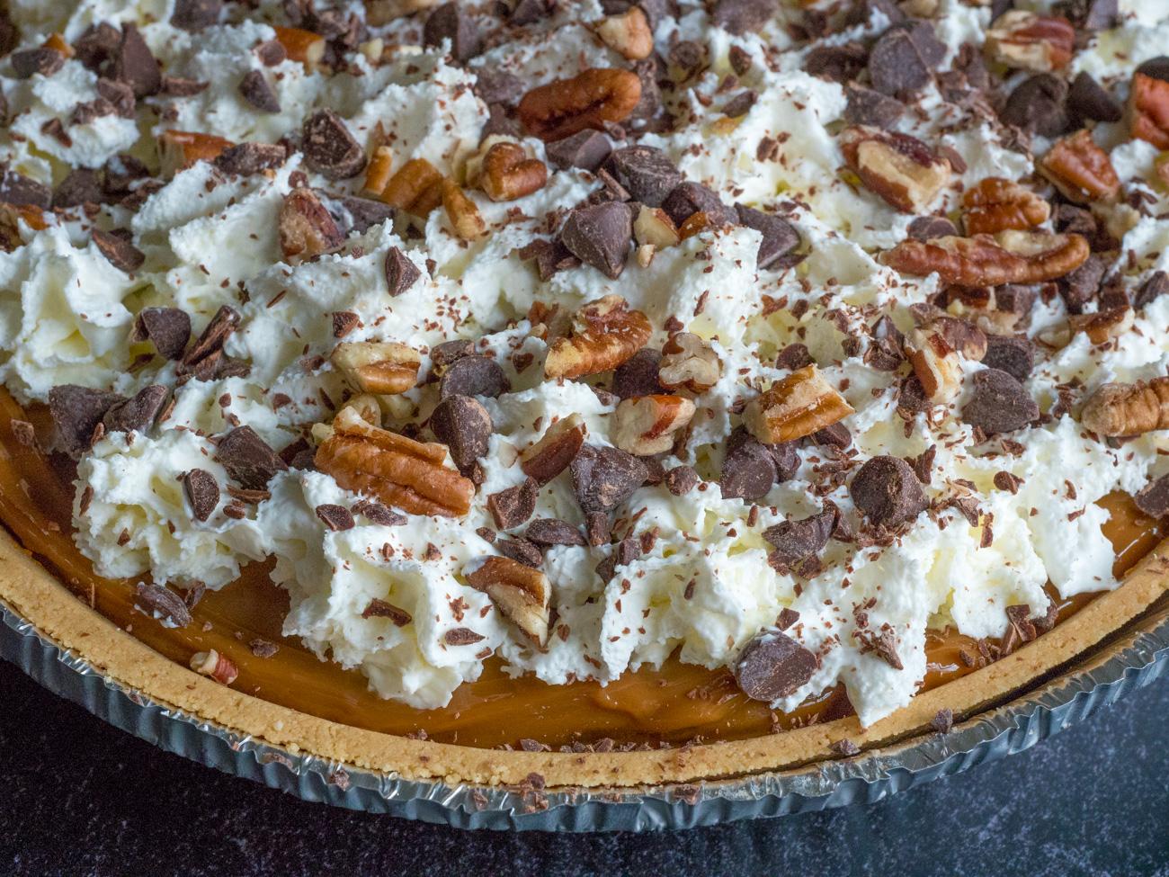 Copycat O'Charley's Caramel Pie