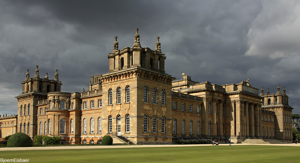 the majestic Blenheim Palace, traditional home of the Dukes of Marlborough