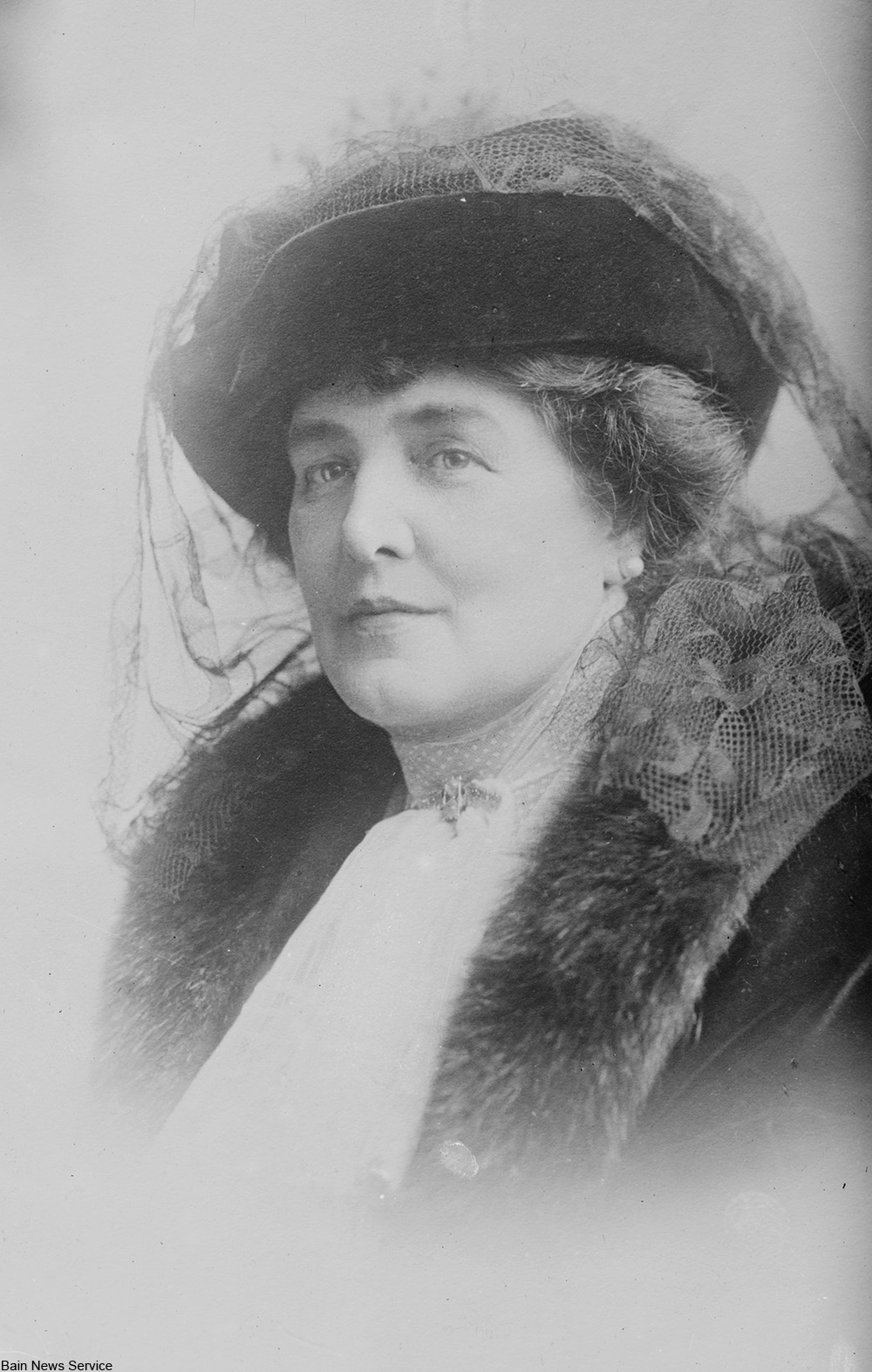 Lady Randolph Churchill photographed before WWI