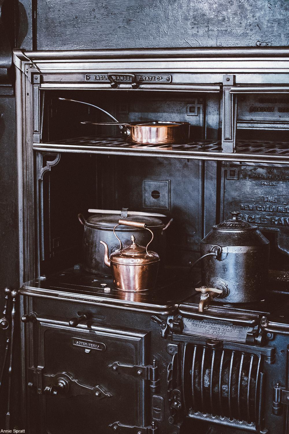 Victorian stove