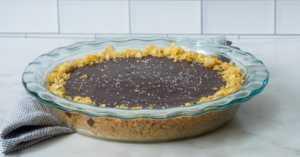 Potato Chip Chocolate Pie