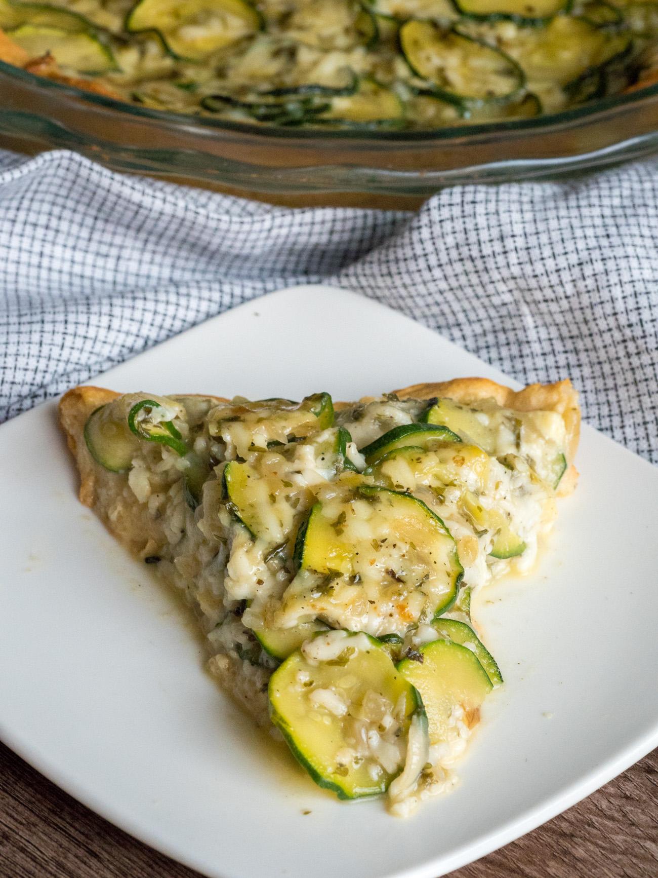 Easy Zucchini Tart