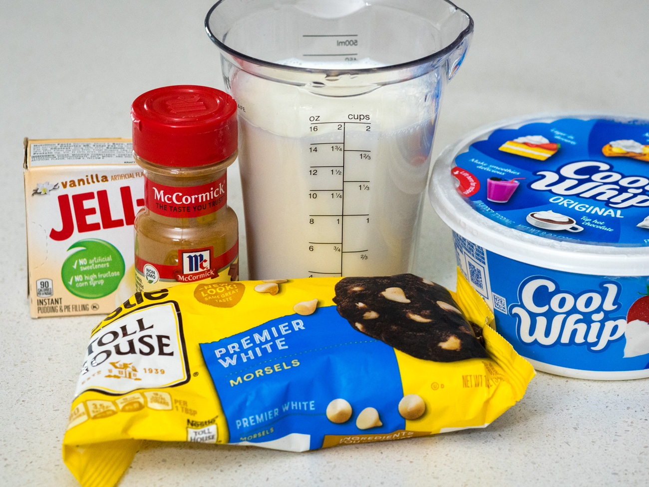 ingredients for Snickerdoodle Pudding