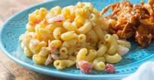 Creamy Cajun Pasta Salad