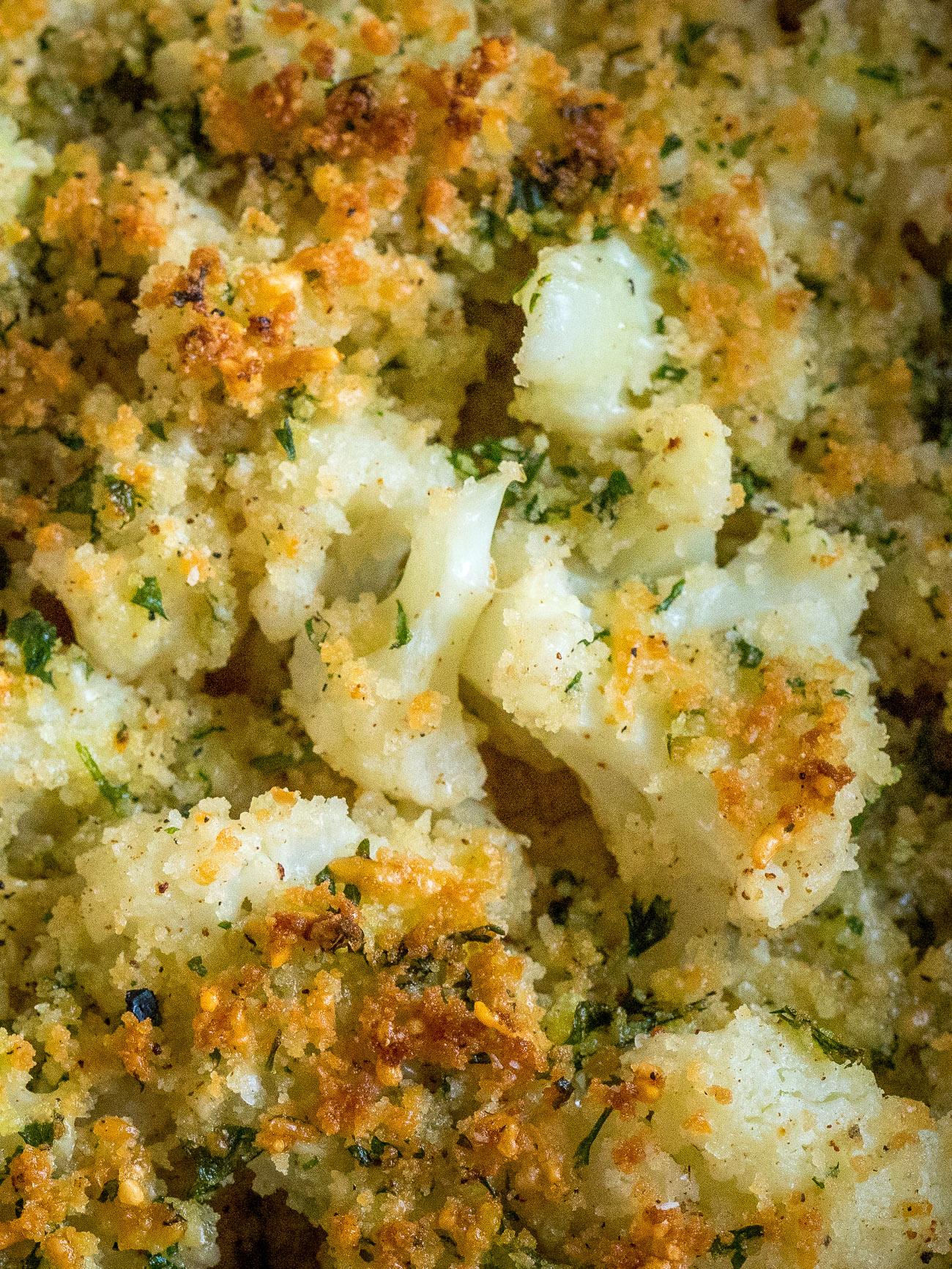 Buttered Crumb Cauliflower