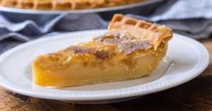Old Fashioned Mapleine Pie