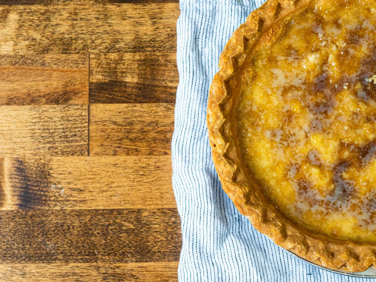 Old Fashioned Mapleine Pie