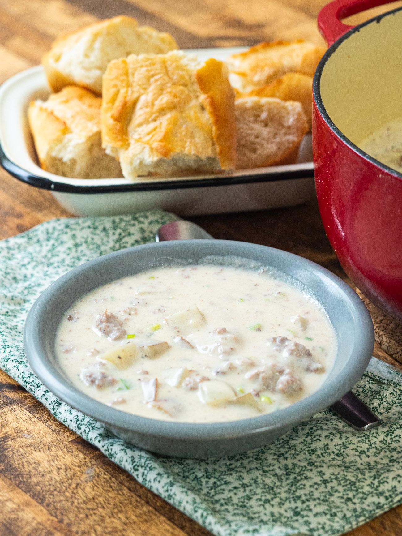 Leftover Meatloaf Soup