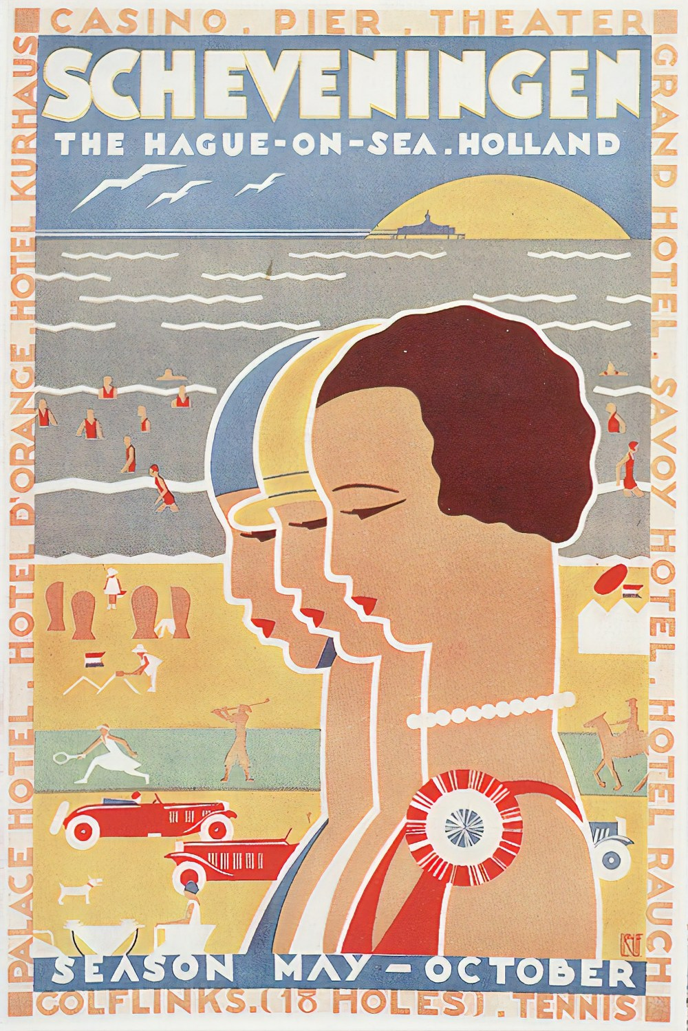 1930s poster from Holland