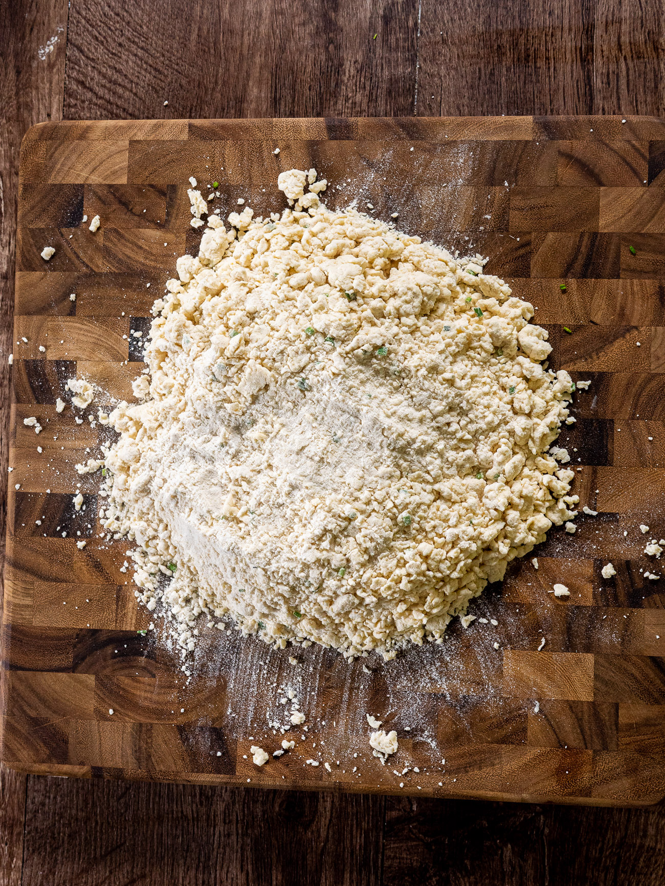 making French Onion Biscuits