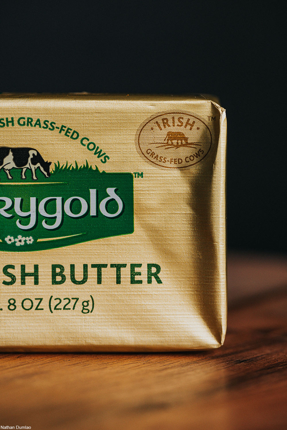 a package of Irish butter