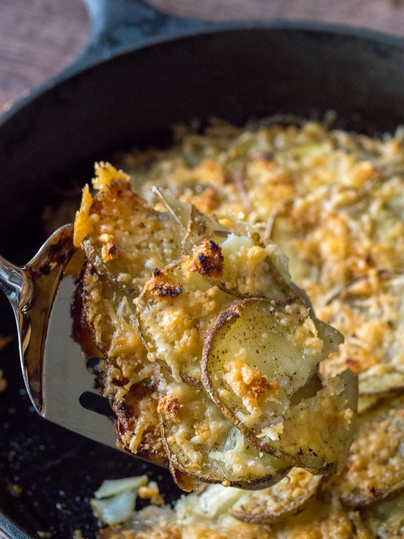 Garlic Skillet Potatoes