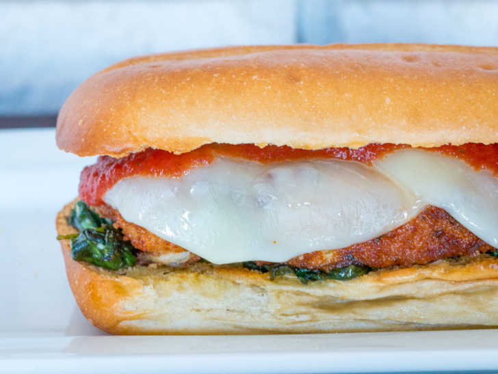 Chicken Parmesan Sandwich 12 Tomatoes