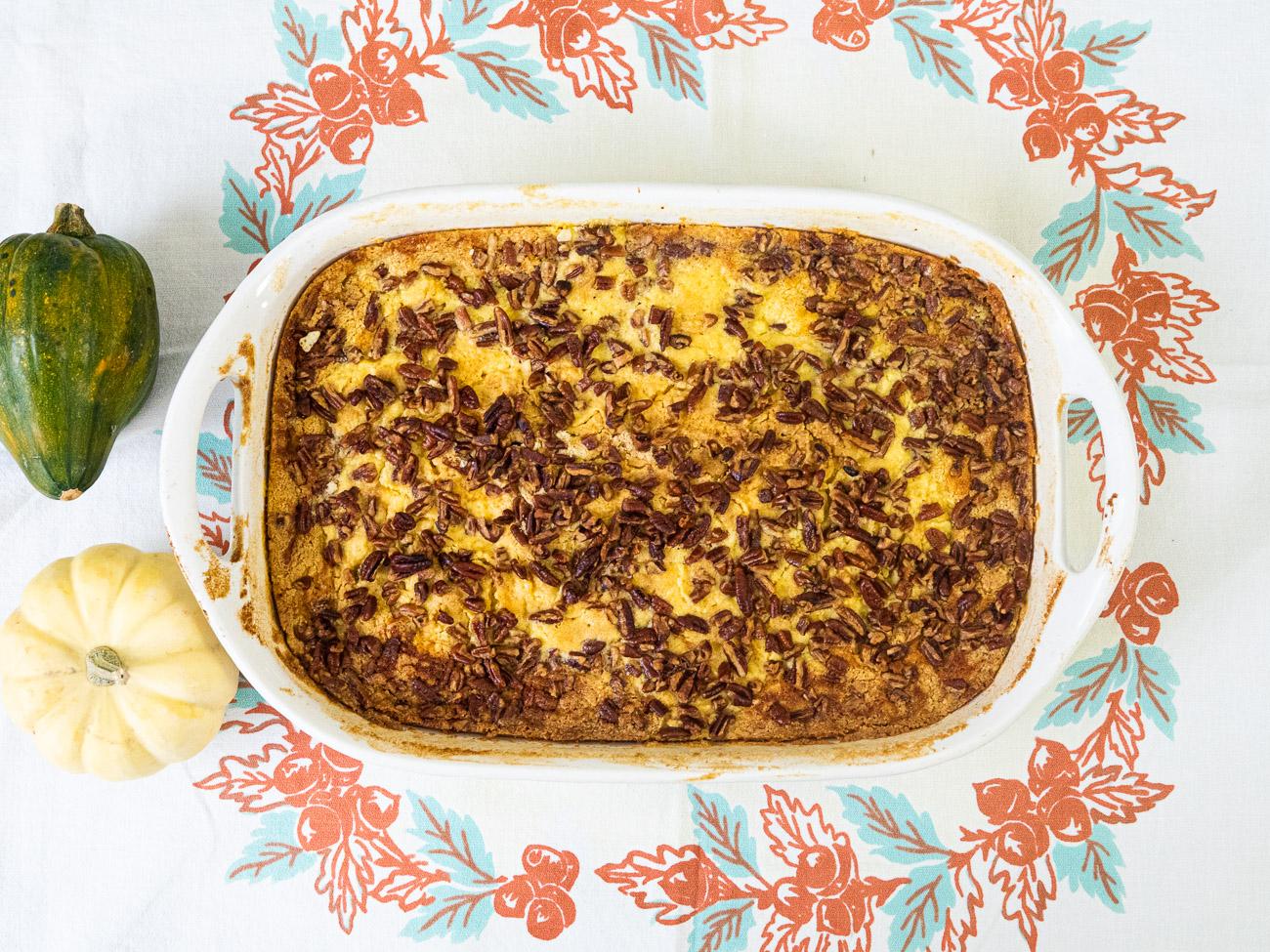 Amish Pumpkin Pie Cake