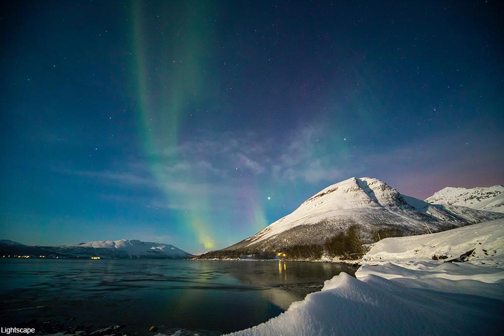 the Northern Lights at Tromsø, Norway
