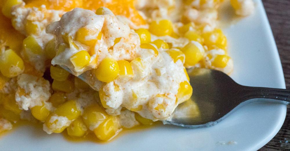 Cream Cheese Corn Casserole Recipe