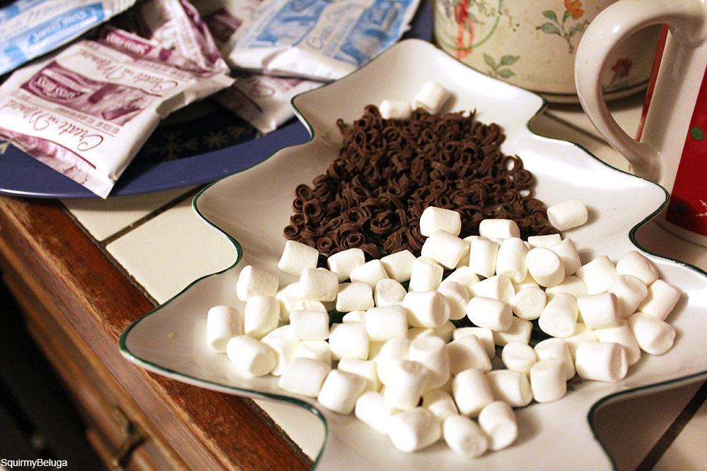 hot cocoa fixins