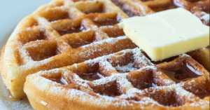 Norwegian Krumkake Waffles