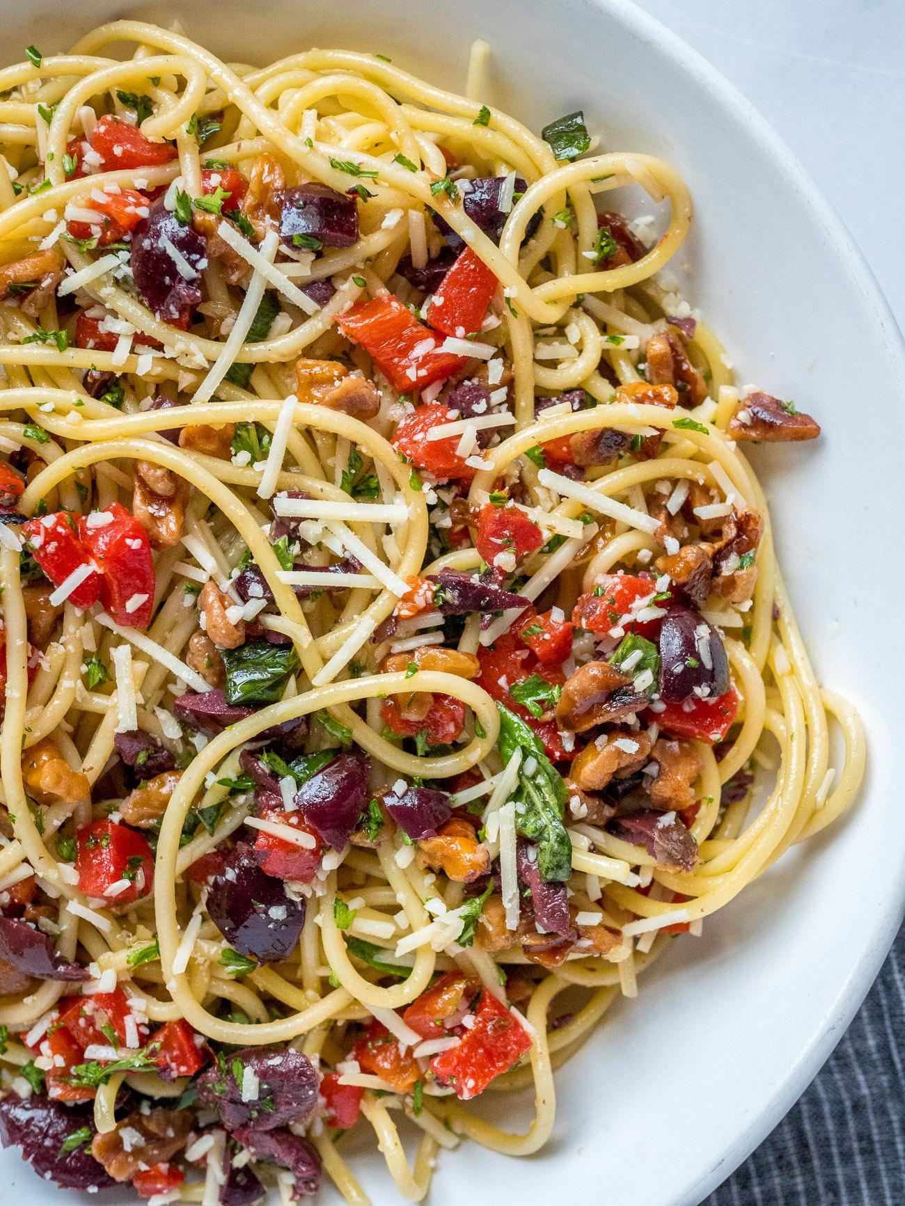Julia Child's Spaghetti Marco Polo