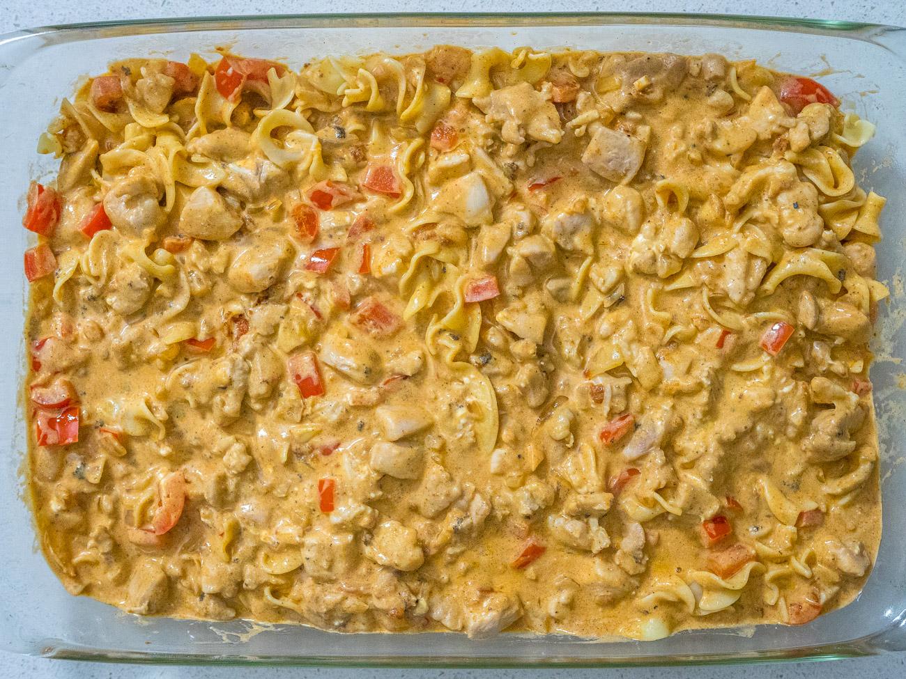 Chicken Paprikash Casserole