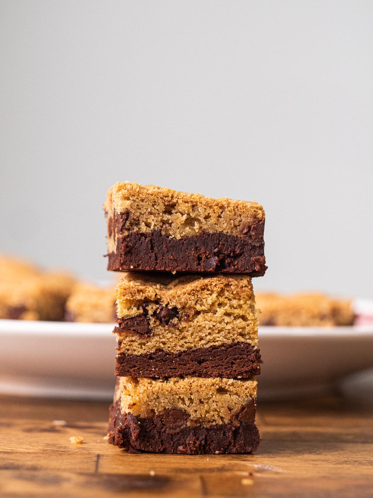 Chocolate Brookie Bars