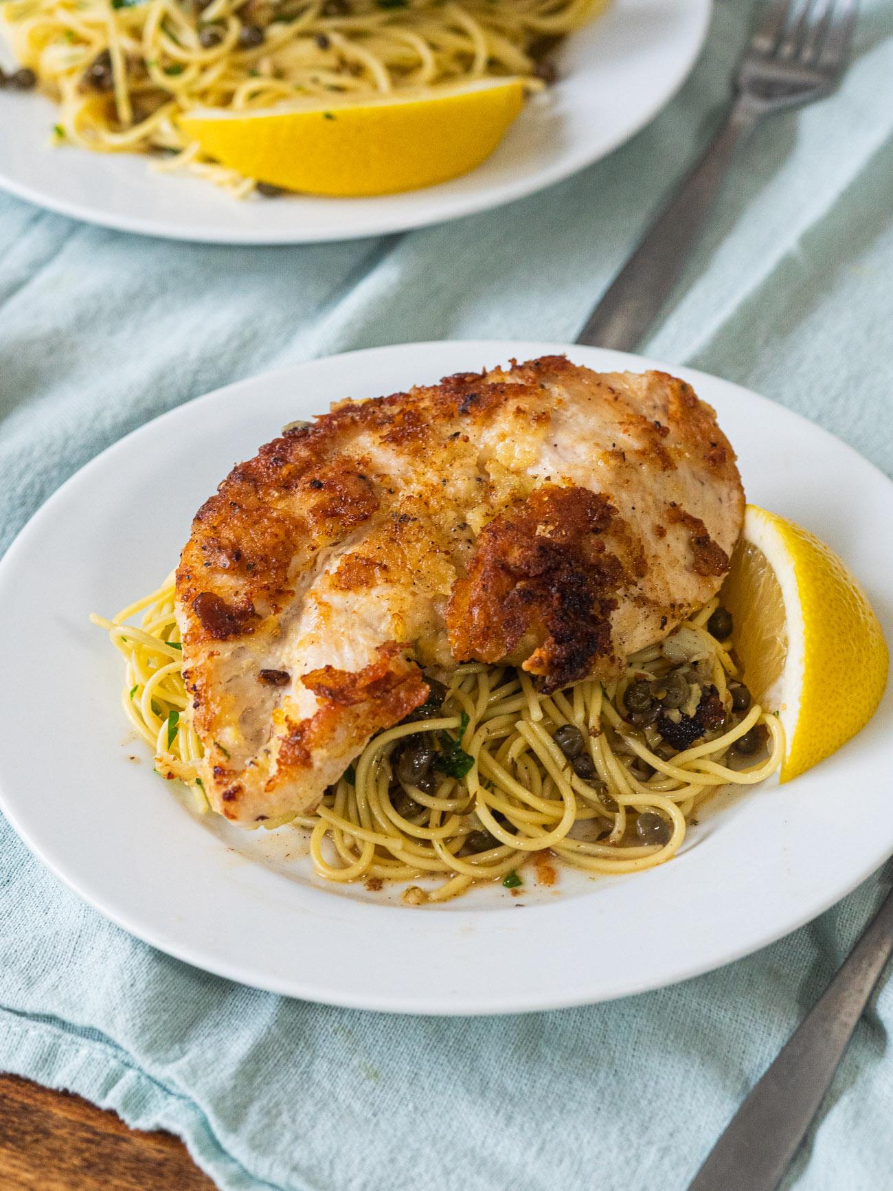 Florence Henderson's Chicken Piccata