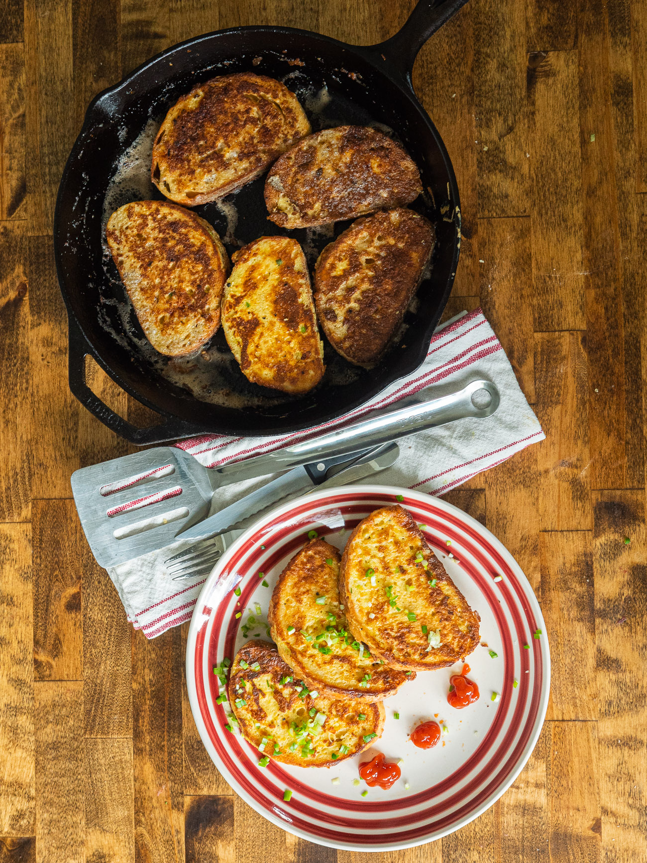 Salt and Pepper French Toast